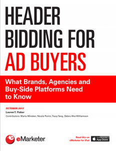 eMarketer - Header Bidding for Ad Buyers